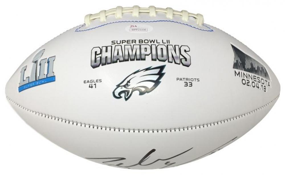 e9d0654b623 Zach Ertz Signed Eagles Super Bowl LII Logo Football (JSA COA) at  PristineAuction.