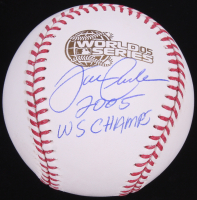"Joe Crede Signed 2005 World Series Baseball Inscribed ""2005 WS Champs"" (Schwartz Sports COA) at PristineAuction.com"