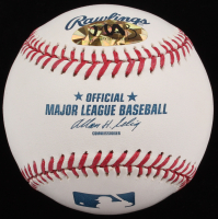 Tyler Austin Signed OML Baseball (MAB Hologram) at PristineAuction.com
