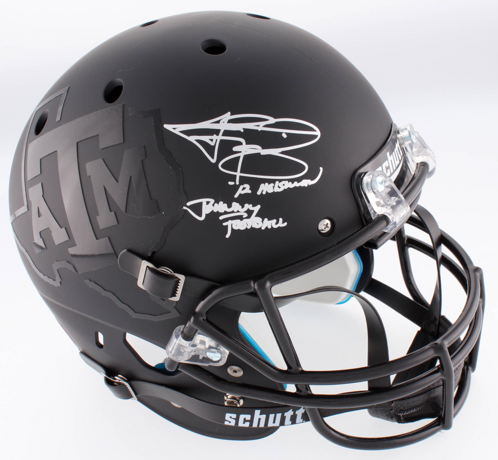 Johnny Manziel Football Helmet