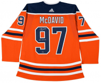 "Connor McDavid Signed Limited Edition Edmonton Oilers Jersey Inscribed ""Go Oilers"" (UDA COA) at PristineAuction.com"