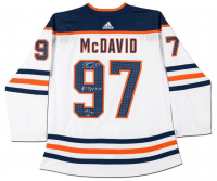 "Connor McDavid Signed Limited Edition Edmonton Oilers Jersey Inscribed ""#1 Pick 2015"" (UDA COA) at PristineAuction.com"