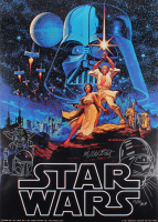 "Greg Hildebrandt Signed AP 20"" x 28"" ""Stars Wars"" Poster With Hand-Drawn Sketch (PA LOA)"