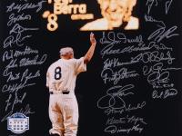 Yankee Yogi Berra Tribute 16x20 Photo Signed by (42) with Jimmy Key, Bud Daley, Bobby Shantz, John Wetteland, Roy White (MAB Hologram) at PristineAuction.com
