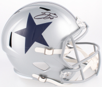Emmitt Smith Signed LE Cowboys Full-Size Speed Helmet (Prova COA)