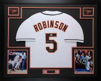 Brooks Robinson Signed 35x43 Custom Framed Jersey (JSA COA) at PristineAuction.com