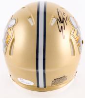 Emmanuel Sanders Signed Super Bowl 50 Speed Mini Helmet (JSA COA) at PristineAuction.com