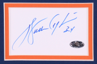 Walter Payton Signed Bears 35x43 Custom Framed Cut Display (Payton COA) at PristineAuction.com