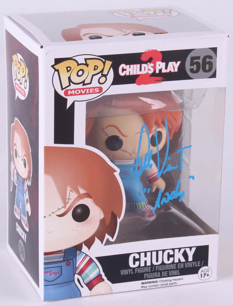 Alex Vincent Signed Chucky Quot Child S Play 2 Quot Funko Pop