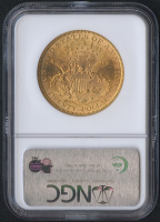 1899 $20 Liberty Head Double Eagle Gold Coin (NGC MS 63) at PristineAuction.com