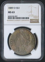 1889-O $1 Morgan Silver Dollar (NGC MS 63)
