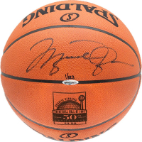 Michael Jordan Signed LE Hall of Fame 50th Anniversary Logo Spalding Basketball (UDA COA)