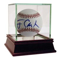 Jimmy Carter Signed OML Baseball (JSA Hologram)