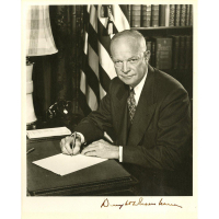 Dwight D. Eisenhower Signed 8x10 Photo (Beckett COA) at PristineAuction.com