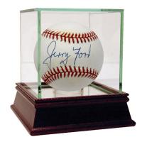Gerald Ford Signed OAL Baseball (JSA Hologram)