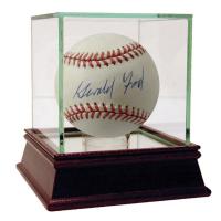 Gerald Ford Signed OAL Baseball (PSA Hologram)