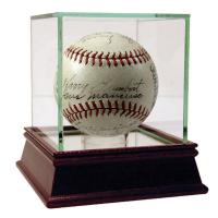 1937 New York Giants Baseball Team-Signed by (19) with Mel Ott, Gus Mancuso, Carl Hubbell (PSA COA & SGC COA)