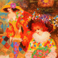 Alexander Galtchansky & Tanya Wissotzky Signed Limited Edition 13x16 Serigraph at PristineAuction.com