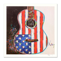 "KAT Signed ""American Acoustic"" Limited Edition 20x20 Lithograph at PristineAuction.com"