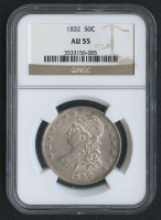 1832 50¢ Capped Bust Half Dollar (NGC AU 55) at PristineAuction.com