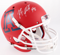 Rob Gronkowski Signed Arizona Wildcats Full-Size Matte Red Helmet (Radtke COA) at PristineAuction.com