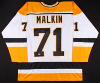 Evgeni Malkin Signed Penguins Alternate Captains Jersey (Beckett COA)