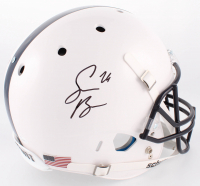 Saquon Barkley Signed Penn State Nittany Lions Full-Size Helmet (JSA COA) at PristineAuction.com