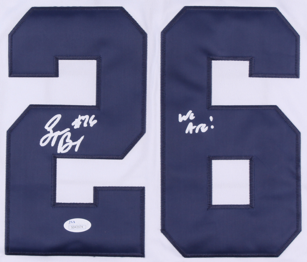 c8af3b4da Saquon Barkley Signed Penn State Nittany Lions Jersey Inscribed