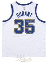 """Kevin Durant Signed LE Warriors Throwback Jersey Inscribed """"Dub Nation"""" (Panini COA) at PristineAuction.com"""