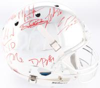 Alabama Crimson Tide Modern Greats Chrome Full-Size Helmet Signed by (20) with Mark Ingram Jr., Derrick Henry, Minka Fitzpatrick (Radtke COA Ingram & Henry Holograms)