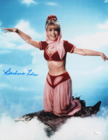 "Barbara Eden Signed ""I Dream of Jeannie"" 11x14 Photo (JSA COA)"