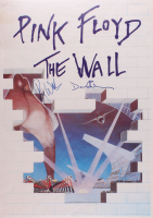 "Roger Waters & David Gilmour Signed Pink Floyd ""The Wall"" 25x35.5 Poster (JSA LOA)"