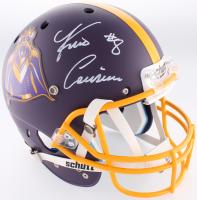 Kirk Cousins Signed Vikings Custom Matte Purple Full-Size Helmet (Beckett COA)