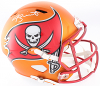Jameis Winston Signed Buccaneers Full-Size Speed Blaze Helmet (Beckett COA)