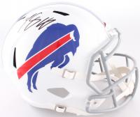 LeSean McCoy Signed Bills Full-Size Speed Helmet (JSA COA)