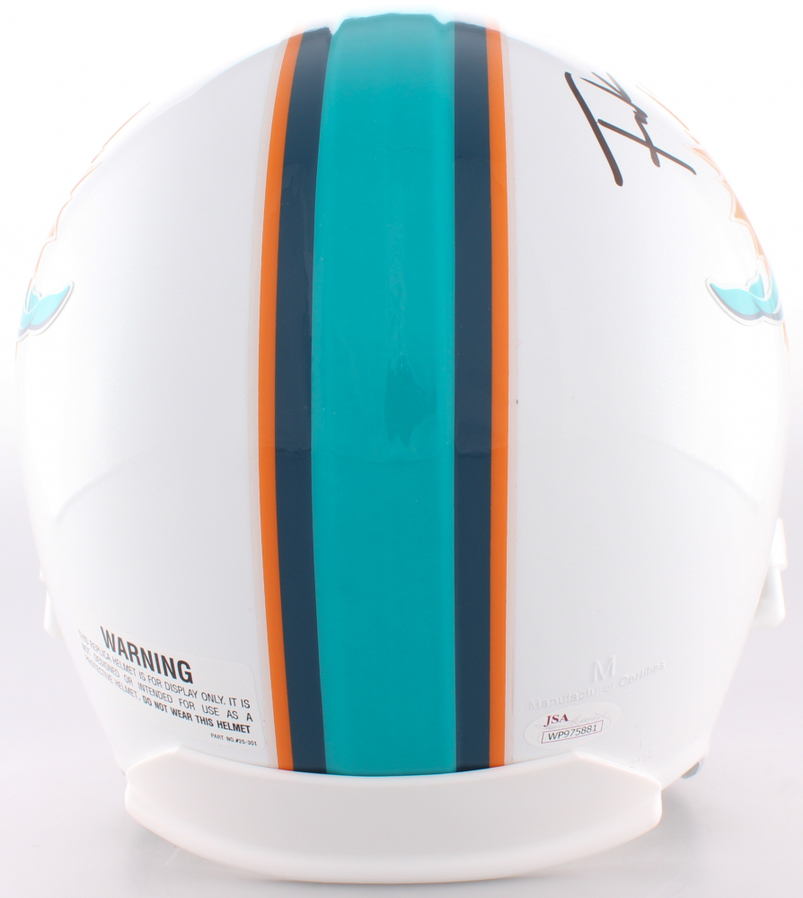 Frank Gore Signed Dolphins Full-Size Helmet (JSA COA) at PristineAuction.com ca5ade85c
