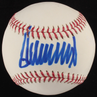 Donald Trump Signed OML Baseball (JSA COA)
