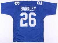 Saquon Barkley Signed Giants Jersey (JSA Signature Debut COA)
