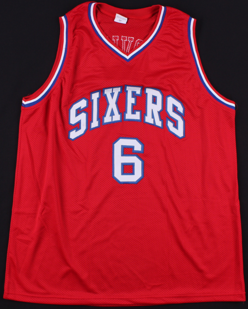 9b42a3d4 Julius Erving Signed Sixers Throwback Jersey (JSA COA) at  PristineAuction.com