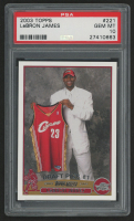 2003-04 Topps #221 LeBron James RC (PSA 10)