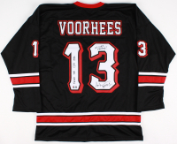 "Ari Lehman Signed Jason Voorhees Hockey Jersey Inscribed ""Friday the 13th 1980"", ""No Lives Matter!"" & ""Jason 1""  (PA COA)"