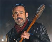 "Jeffrey Dean Morgan Signed ""The Walking Dead"" 16x20 Photo Inscribed ""Negan"" (JSA COA) at PristineAuction.com"