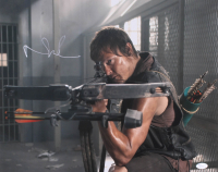 """Norman Reedus Signed """"The Walking Dead"""" 16x20 Photo (JSA COA) at PristineAuction.com"""