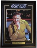 "William Shatner Signed ""Star Trek"" 22x29 Custom Framed Photo Display (JSA COA) at PristineAuction.com"