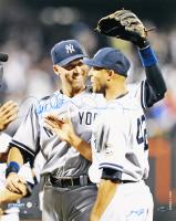Derek Jeter & Mariano Rivera Signed Yankees 16x20 Photo (Steiner COA)