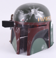 """Jeremy Bulloch Signed Star Wars """"Boba Fett"""" Full-Size Deluxe Edition Star Wars Helmet Inscribed """"Boba Fett"""" (JSA COA)"""