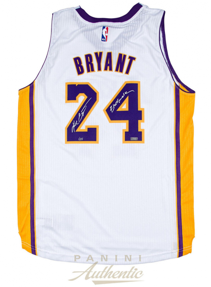 09f19a138a6 Kobe Bryant Signed Lakers LE