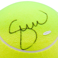 Serena Williams Signed Jumbo Wilson Yellow Tennis Ball (UDA COA) at PristineAuction.com