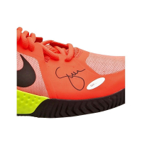 Serena Williams Signed Pink Nike Flare Shoes (UpperDeck)