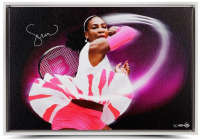 "Serena Williams Signed ""Pioneer"" 20x30 Limited Edition Photo on Canvas (UDA COA)"